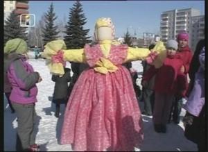 Провожать зиму и встречать весну горожане будут на площади ДК «Визит»