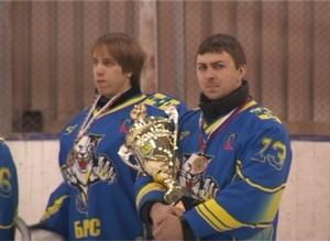 Завершился седьмой чемпионат Саяногорска по хоккею с шайбой