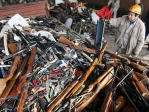 Полицейские Хакасии лишились более 700 единиц боевого арсенала