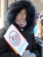 В Саяногорске Час земли отметили митингом
