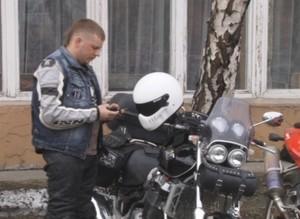 В Саяногорском политехническом техникуме прошла встреча студентов с байкерами