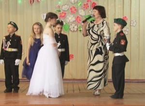 В третьей школе Саяногорска прошел очередной кадетский бал