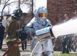 В пожарной службе Саяногорска прошел День открытых дверей