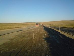 Продолжается ремонт дороги Абакан-Саяногорск