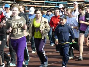 Жителям Саяногорска предложено пробежаться за здоровьем
