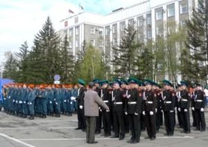 В Хакасии кадеты примут участие в Параде Победы