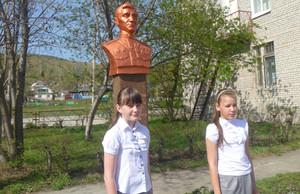В Хакасии открыли монумент Герою Советского Союза