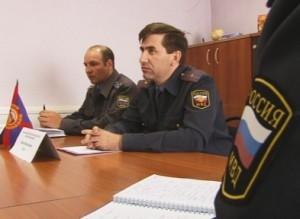 В саяногорской ГИБДД прошла пресс-конференция для представителей городских СМИ