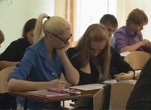 Выпускники саяногорских школ приступили к сдаче ЕГЭ
