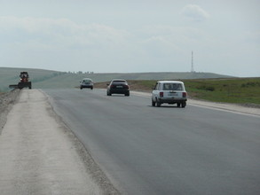 Реконструирован еще один участок дороги Абакан-Саяногорск
