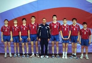 Юный волейболист из Хакасии стал «лучшим принимающим» на Первенстве России