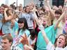 У ДК Визит прошёл масштабный флэшмоб в рамках акции «Сибирский хоровод»