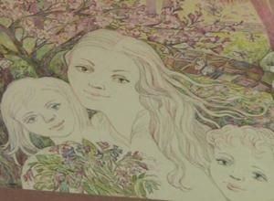 В краеведческом музее открылась выставка саяногорской художницы Ольги Понятиной