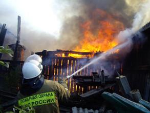 Страшный огонь в Хакасии тушило два десятка пожарных
