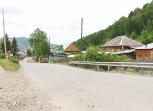 Работы на улице Горной в поселке Майна близятся к завершению