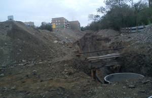 В центре Саяногорска развернулась мощная стройплощадка