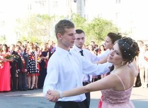 В Саяногорске прошли выпускные балы