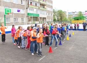 В Саяногорске открылась новая спортплощадка