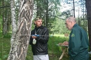 """Команды школьных лесничеств Хакасии провели соревнования в """"Серебряном ключе"""""""