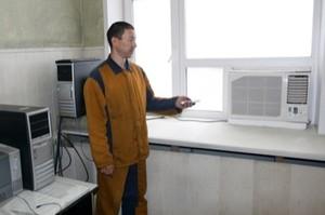 В цехах САЗа устанавливают современные кондиционеры