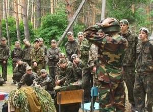 Рядом с Саяногорском развернулся военный лагерь