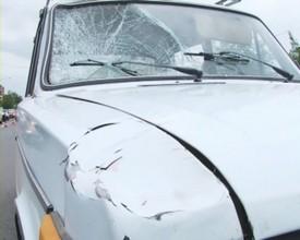 В Саяногорске женщина оказалось под колесами автомобиля