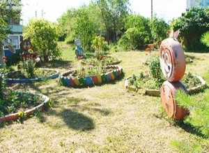 В Саяногорске объявлен конкурс на лучшее оформление двора