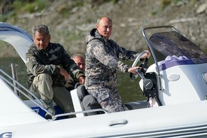 Путин и Шойгу побывали в Саяно-Шушенском заповеднике