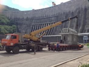 Завершена доставка трансформаторов для Саяно-Шушенской ГЭС
