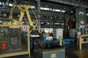 Хакасский алюминиевый завод начал производить сплавы