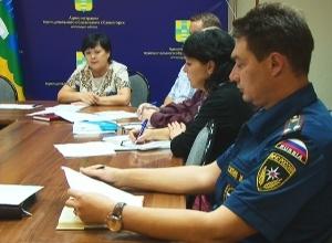 В Саяногорске обсудили пожарную безопасность города