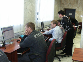 Металлурги САЗа оценили возможности онлайн-библиотеки