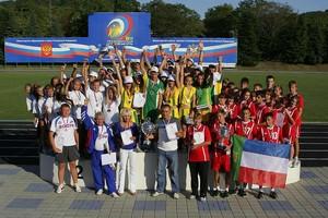 Учащиеся Лицея №7  в третий раз участники «Президентских спортивных игр»
