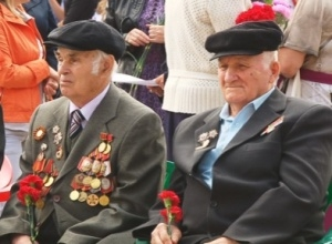 В Саяногорске отметили день окончания второй мировой войны