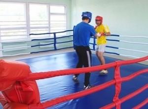 В Саяногорске открылся зал бокса