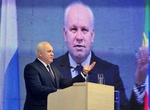 Глава Хакасии Виктор Зимин официально вступил в должность