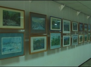 В музее открылась выставка Надежды Максак
