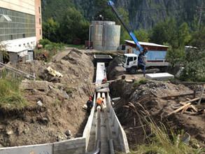 В Саяногорске отремонтировано более 600 метров водопроводных сетей