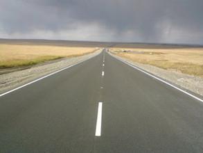 Алтайское ДРСУ закончило ремонт еще одного участка дороги Абакан - Саяногорск