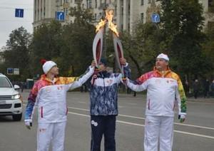 Олимпийский огонь прибудет в Хакасию в конце ноября