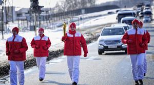 Сопровождать олимпийских факелоносцев в Хакасии будет вертолет и пожарные