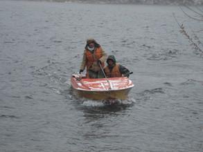 Поиски людей из перевернувшейся в Черемушках лодки прекращены
