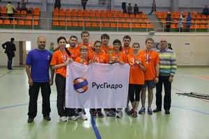 По итогам пяти этапов Фестиваля «Молодость.ru» молодежная сборная СШГЭС занимает первое место