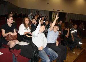 В Саяногорске русаловская молодежь выбрала себе нового лидера