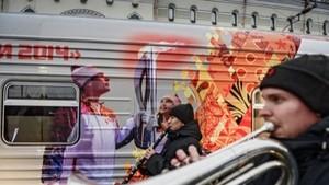 Завтра в Абакан прибывает поезд эстафеты Олимпийского огня
