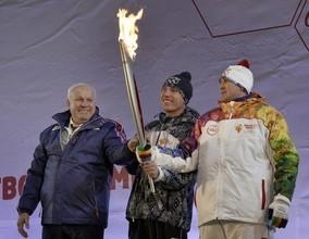В Хакасии завершилась Эстафета Олимпийского Огня