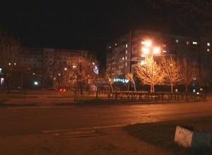 В Саяногорске продолжается проверка уличного освещения