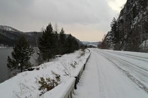 На дорогах Саяногорска небезопасно