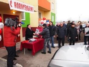 """Компания """"Саянстрой"""" сдала еще один дом в Саяногорске, построенный по заказу САЗа"""