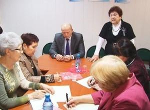 Леонид Быков встретился с городской общественностью